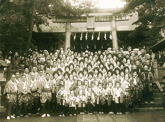だるまの歴史 写真