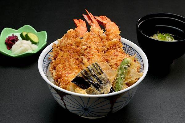 海老天丼セット