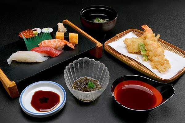 すし・天ぷらセット